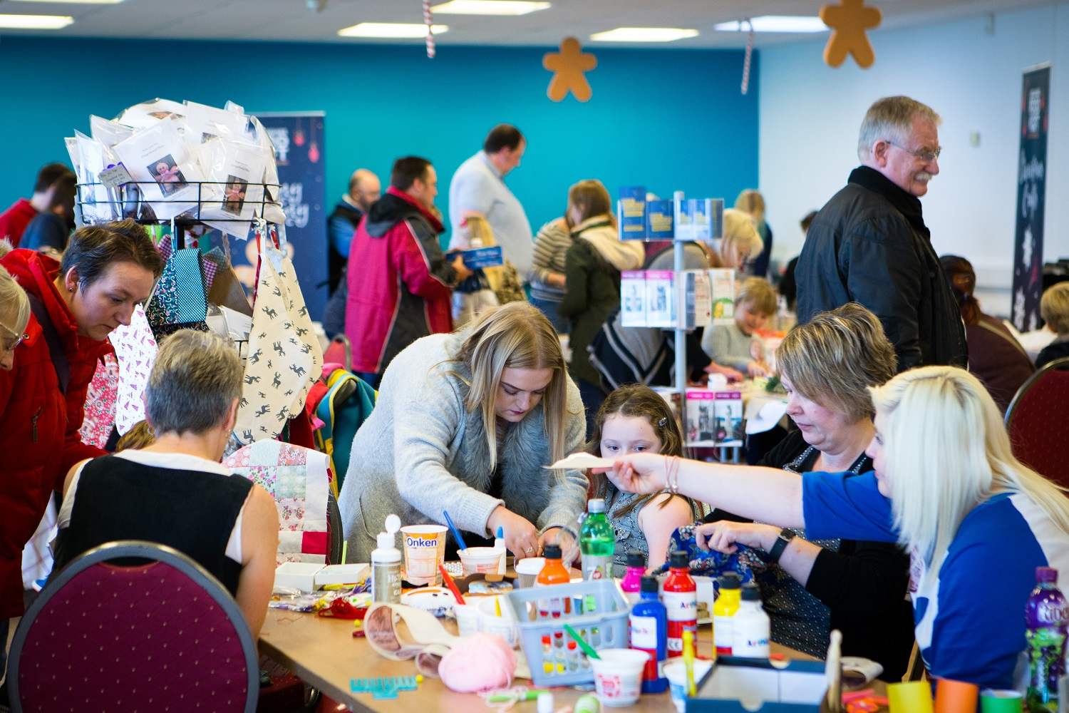 Craft making at the Lincolnshire Food and Gift Fair