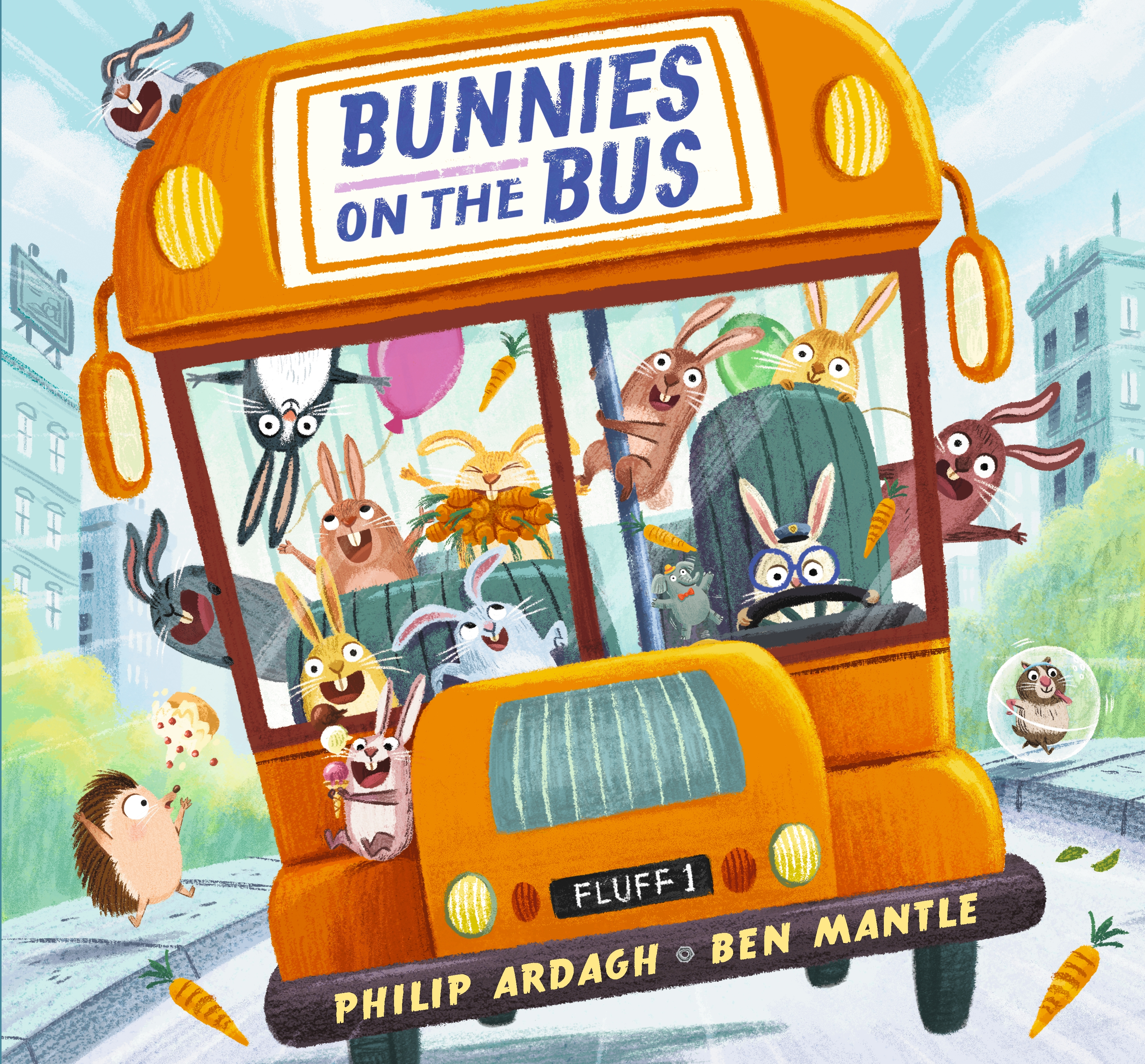 This image has an empty alt attribute; its file name is bunnies-on-the-bus.jpg